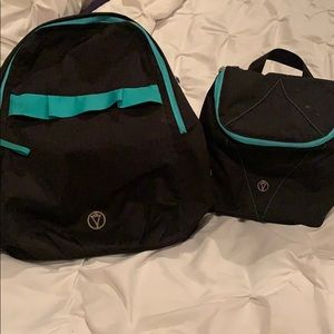 Kids Iviva matching backpack & lunch tote